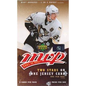 2007/08 Upper Deck MVP Hockey Hobby Box