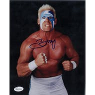 Sting WWE Steve Borden Autographed 8x10 Blonde Wrestling Photo (JSA COA)