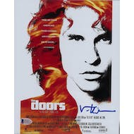 Val Kilmer Autographed 8x10 Doors Photo (Beckett COA)