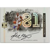 2016/17 Impeccable Kobe Bryant Autographed Card IS-KB 67/81