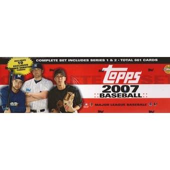 2007 Topps Factory Set Baseball Holiday (Box)