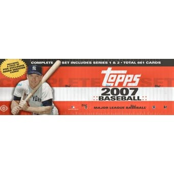 2007 Topps Factory Set Baseball Hobby (Box)