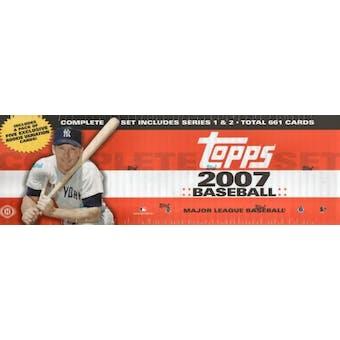 2007 Topps Factory Set Baseball Hobby (Box)