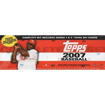 2007 Topps Factory Set Baseball Retail (Box)