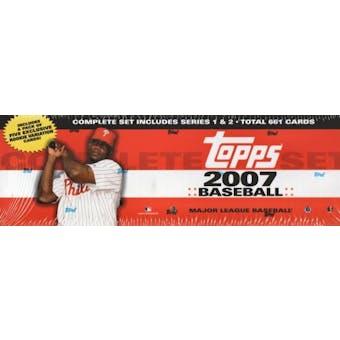 2007 Topps Factory Set Baseball Retail (Box)