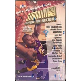 2000/01 Topps Stadium Club Basketball Hobby Box