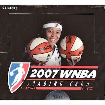 2007 Rittenhouse WNBA Basketball Hobby Box