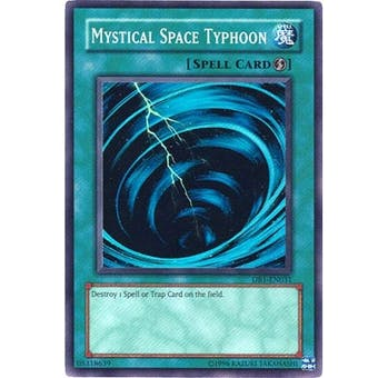 Yu-Gi-Oh Dark Beginning Single Mystical Space Typhoon Super Rare