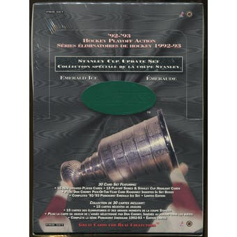 1992/93 Parkhurst Update Emerald Ice Set Hockey Box
