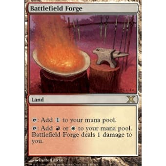 Magic the Gathering 10th Edition Single Battlefield Forge - NEAR MINT (NM)
