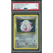 Pokemon Base Set 1st Edition Shadowless Chansey 3/102 PSA 7