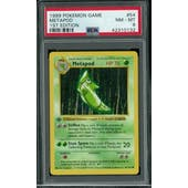 Pokemon Base Set 1st Edition Shadowless Metapod 54/102 PSA 8