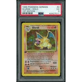 Pokemon Base Set 1st Edition GERMAN Charizard Glurak 4/102 PSA 3