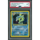 Pokemon Base Set 1st Edition GERMAN Gyarados Garados 6/102 PSA 9