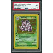 Pokemon Base Set 1st Edition GERMAN Nidoking 11/102 PSA 9