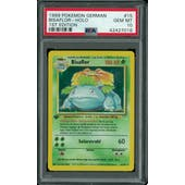 Pokemon Base Set 1st Edition GERMAN Venusaur Bisaflor 15/102 PSA 10 GEM MINT