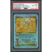 Pokemon Legendary Collection Reverse Foil Hitmonlee 13/110 PSA 8