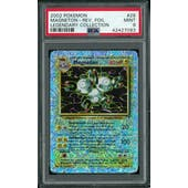 Pokemon Legendary Collection Reverse Foil Magneton 28/110 PSA 9
