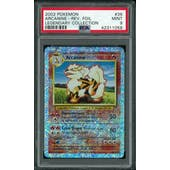 Pokemon Legendary Collection Reverse Foil Arcanine 36/110 PSA 9