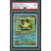 Pokemon Legendary Collection Reverse Foil Primeape 59/110 PSA 9