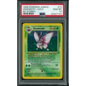 Pokemon Jungle No Set Symbol Error Venemoth 13/64 PSA 10 GEM MINT