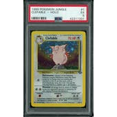 Pokemon Jungle Clefable Prerelease 1/64 PSA 5