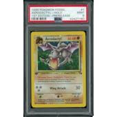 Pokemon Fossil 1st Edition Aerodactyl Prerelease Promo 1/62 PSA 9