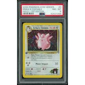 Pokemon Gym Heroes 1st Edition Erika's Clefable 3/132 PSA 8