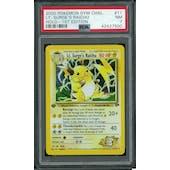 Pokemon Gym Challenge 1st Edition Lt. Surge's Raichu 11/132 PSA 7