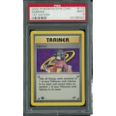 Pokemon Gym Challenge 1st Edition Sabrina 110/132 PSA 9