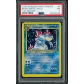 Pokemon Neo Genesis 1st Edition Feraligatr 4/111 PSA 7