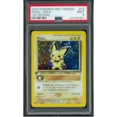 Pokemon Neo Genesis 1st Edition Pichu 12/111 PSA 9