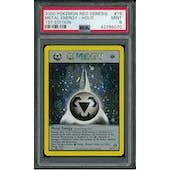 Pokemon Neo Genesis 1st Edition Metal Energy 19/111 PSA 9