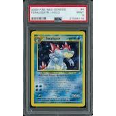 Pokemon Neo Genesis Feraligatr 4/111 PSA 9