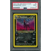 Pokemon Neo Revelation Houndoom 8/64 PSA 9