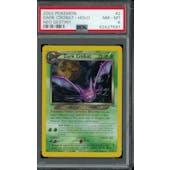 Pokemon Neo Destiny Dark Crobat 2/105 PSA 8