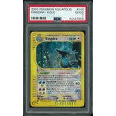 Pokemon Aquapolis Kingdra 148/147 PSA 2