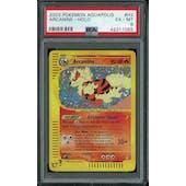 Pokemon Aquapolis Arcanine H2/H32 PSA 6