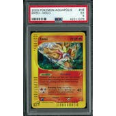 Pokemon Aquapolis Entei H8/H32 PSA 5