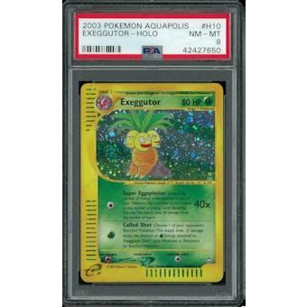 Pokemon Aquapolis Exeggutor H10/H32 PSA 8