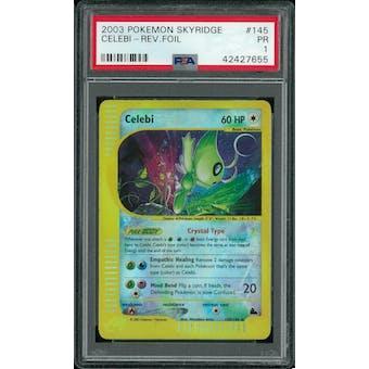 Pokemon Skyridge Celebi Reverse Foil 145/144 PSA 1