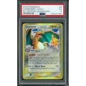 Pokemon EX Crystal Guardians Charizard - Delta Species 4/100 PSA 5