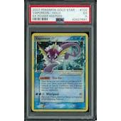Pokemon EX Power Keepers Vaporeon Gold Star 102/108 PSA 5