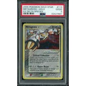 Pokemon EX Delta Species Metagross Gold Star 113/113 PSA 2