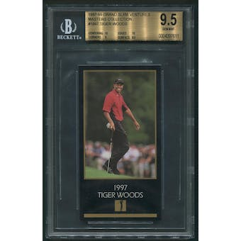 1997 Grand Slam Ventures Masters Collection #1997 Tiger Woods Rookie BGS 9.5 (GEM MT)