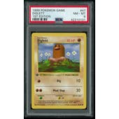 Pokemon Base Set 1st Edition Shadowless Diglett 47/102 PSA 8