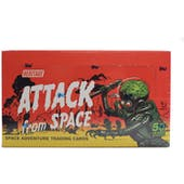 Mars Attacks Heritage Attack from Space Trading Cards Box (Topps 2012)