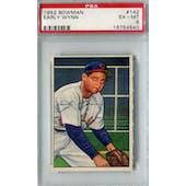 1952 Bowman Baseball #142 Early Wynn PSA 6 (EX-MT) *4540