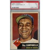 1953 Topps Baseball #27 Roy Campanella PSA 5 (EX) *1932