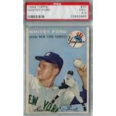 1954 Topps Baseball #37 Whitey Ford PSA 5.5 (EX+) *2985